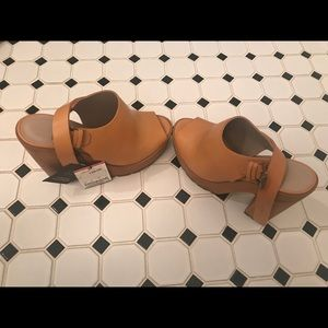 Shoes - Zara open toe clogs!!!